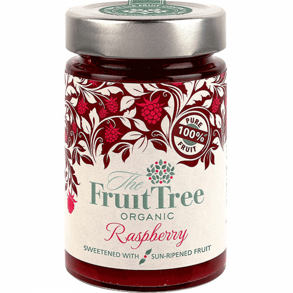 Fruit Tree Organic Raspberry Spread 250G