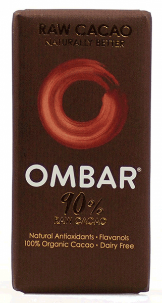 Ombar Organic 90% chocolate (raw) 35G