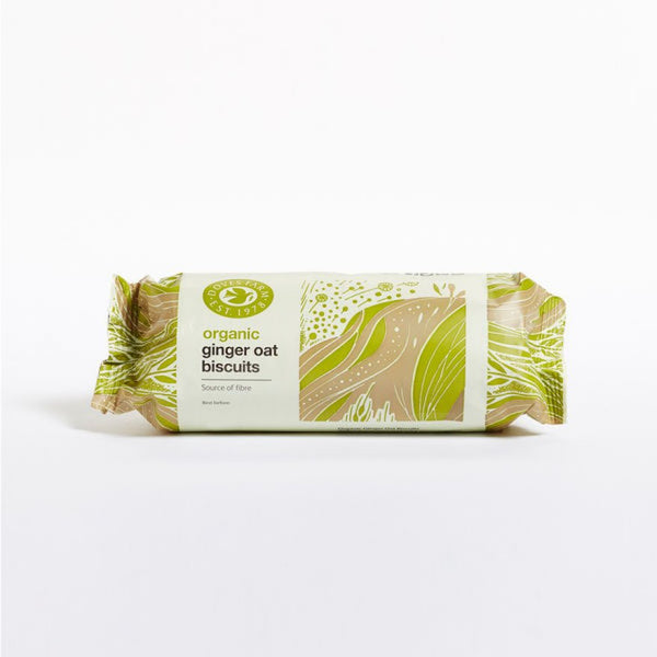 Doves Organic Ginger Oat Biscuits 200G