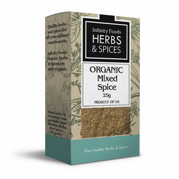 Infinity Organic mixed  spice 25G