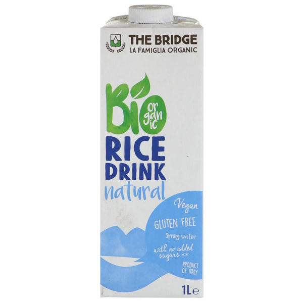 The Bridge Organic Rice Drink 1Lt