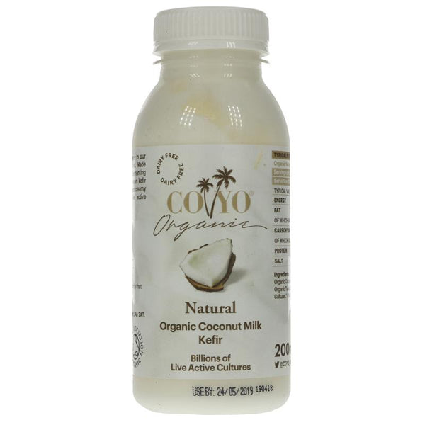 Coyo Organic Natural Coconut Kefir 200ML