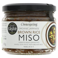 Clearspring Organic Brown Rice Miso 300G