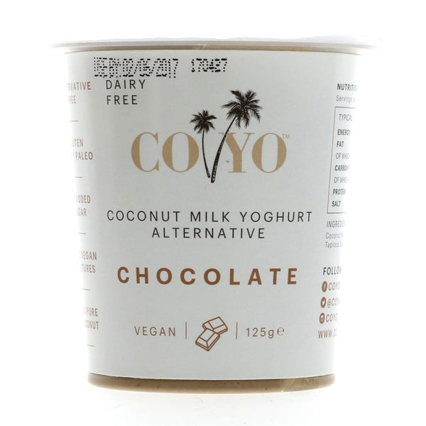 Coyo Organic Raw Chocolate Coconut Yoghurt 125G