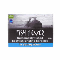 Fish 4 Ever Wild Sprats in Spring water 105G