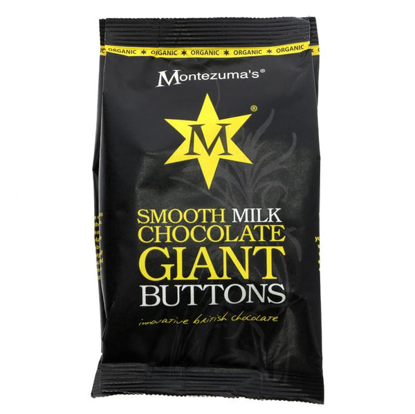 Montezuma Organic Milk chocolate buttons 180G