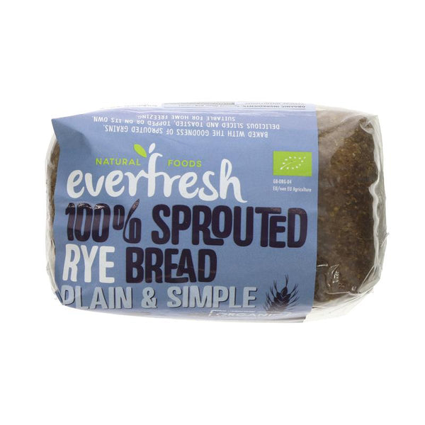 Everfresh Organic sprouted rye bread 400g
