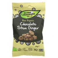 Raw Choc Co Organic Stem Ginger (contains sugar) 28G