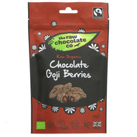Raw Choc Co Organic Chocolate Goji Berries 125G