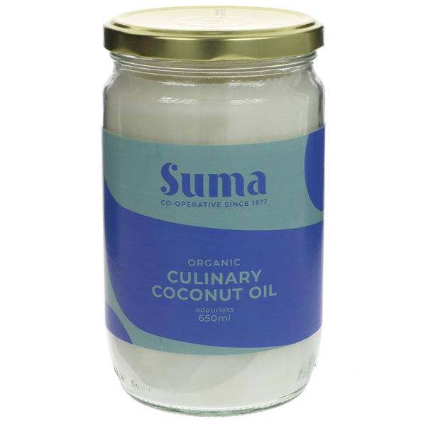 Suma Organic Culinary Coconut Oil 650G