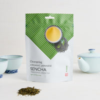 Clearspring Organic Japanese Sencha loose tea 90g