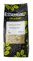 Essential Organic onion & herb stuffing mix 250g