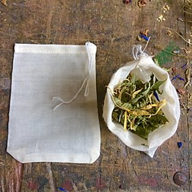 Singing Leaf Cotton Tea Bag