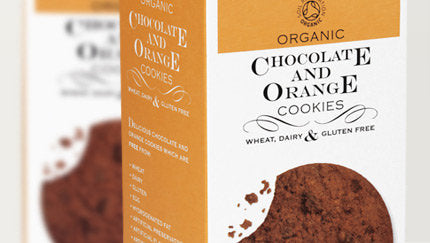 Against the Grain Organic Chocolate & Orange G/F cookies 150G