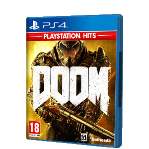 JUEGO PS4 DOOM PLAYSTATION HITS