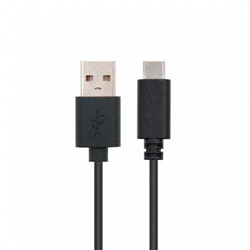 CABLE USB(A) 2.0 A USB(C) NANOCABLE 2M NEGRO