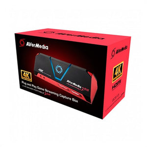 CAPTURADORA AVERMEDIA LIVE GAMER PORTABLE 2 PLUS