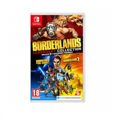 JUEGO NINTENDO SWITCH BORDERLANDS LEGENDARY COLLECTION
