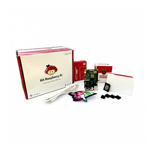 KIT RASPBERRY PI 4 2GB + CARCASA + CARGADOR