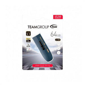 PENDRIVE 64GB USB3.1 TEAMGROUP C188 BLUE