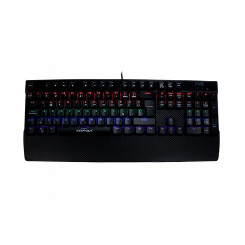 TECLADO KEEP OUT F115 GAMING MECANICO RGB