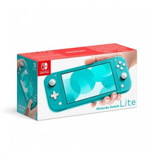 Load image into Gallery viewer, CONSOLA NINTENDO SWITCH LITE AZUL TURQUESA