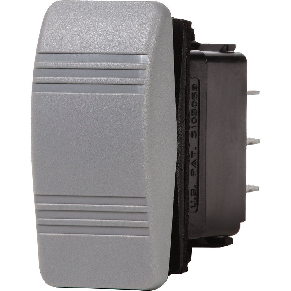 Blue Sea 8222 Water Resistant Contura III Switch - Gray