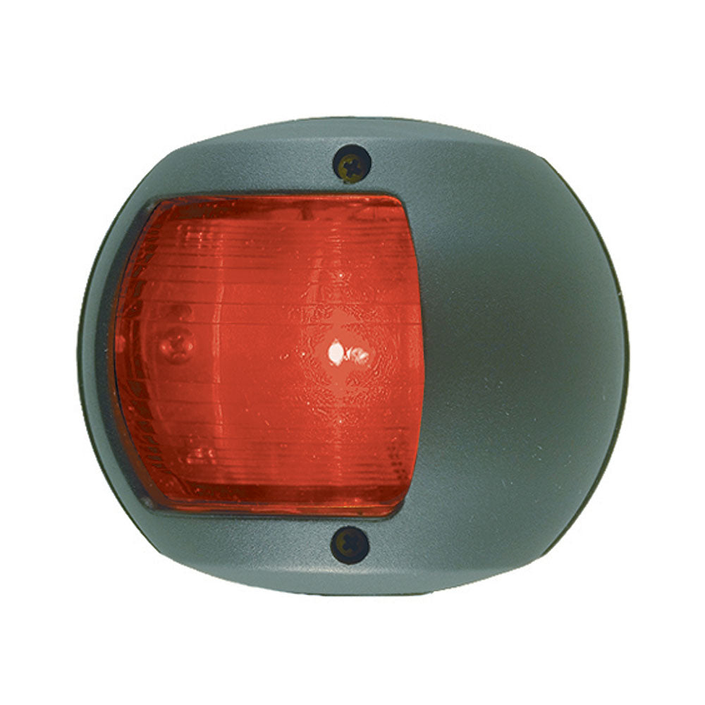 Perko LED Side Light - Red - 12V - Black Plastic Housing