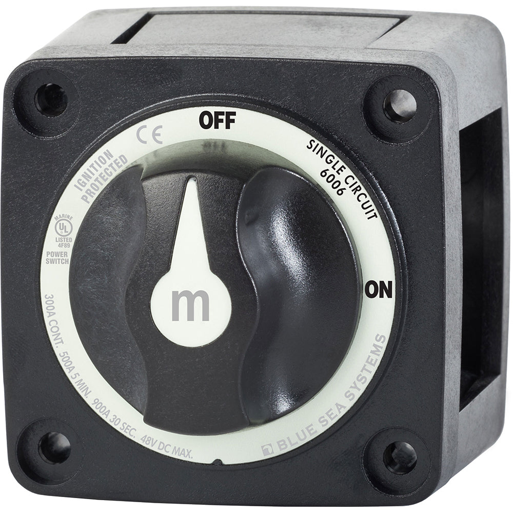 Blue Sea 6006200 Battery Switch Mini ON-OFF - Black