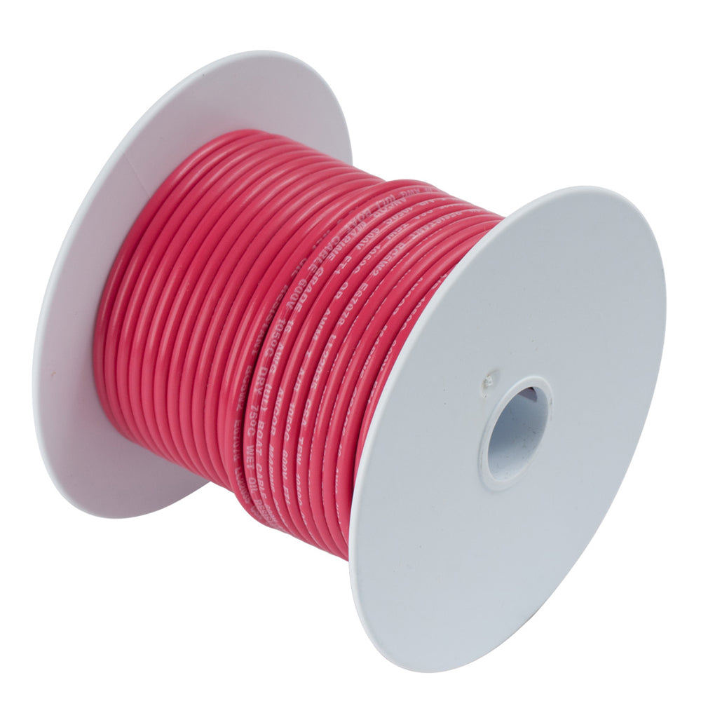 Ancor Red 10 AWG Primary Cable - 100'