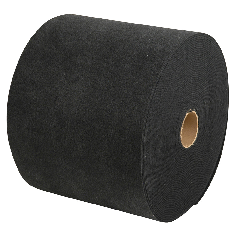 "C.E. Smith Carpet Roll - Black - 18""W x 18'L"
