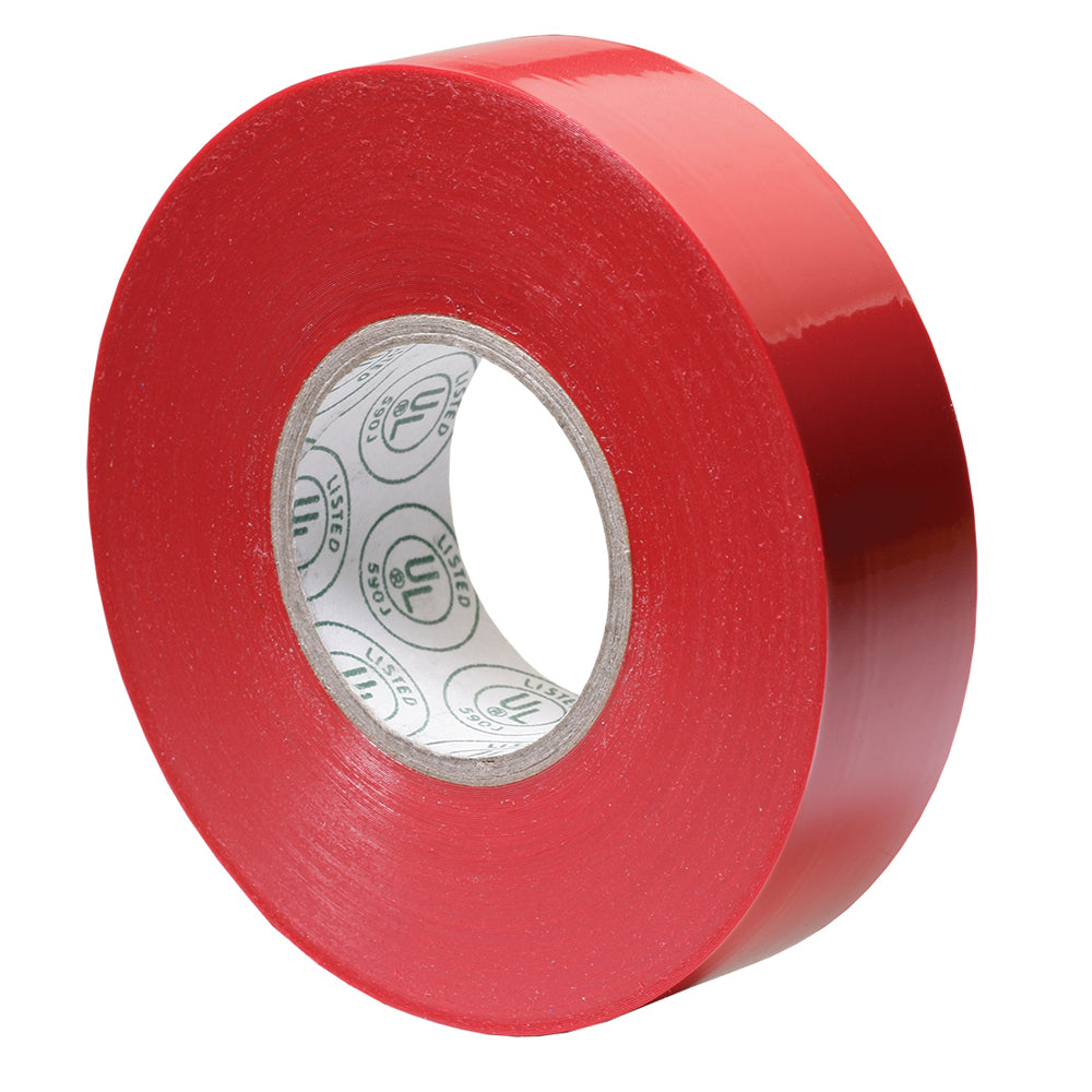 "Ancor Premium Electrical Tape - 3-4"" x 66' - Red"