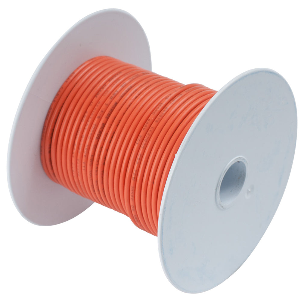 Ancor Orange 10 AWG Tinned Copper Wire - 100'