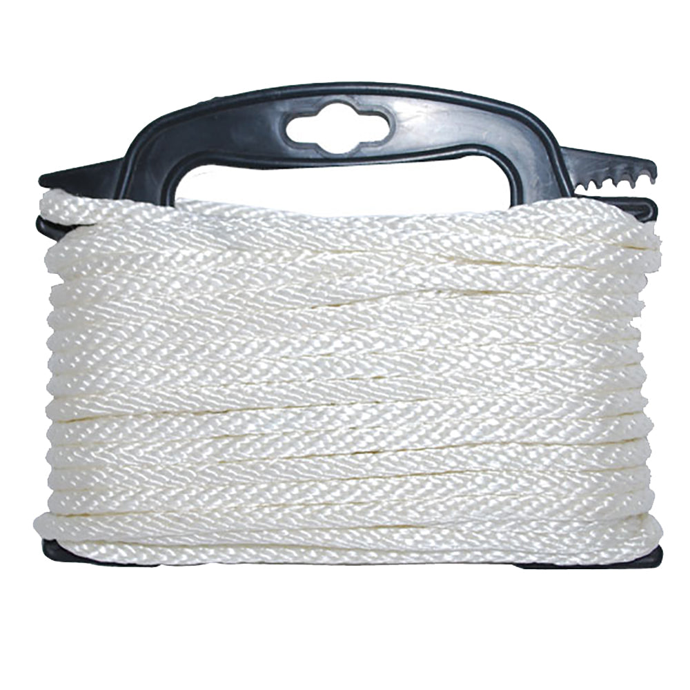 "Attwood Braided Nylon Rope - 3-16"" x 100' - White"