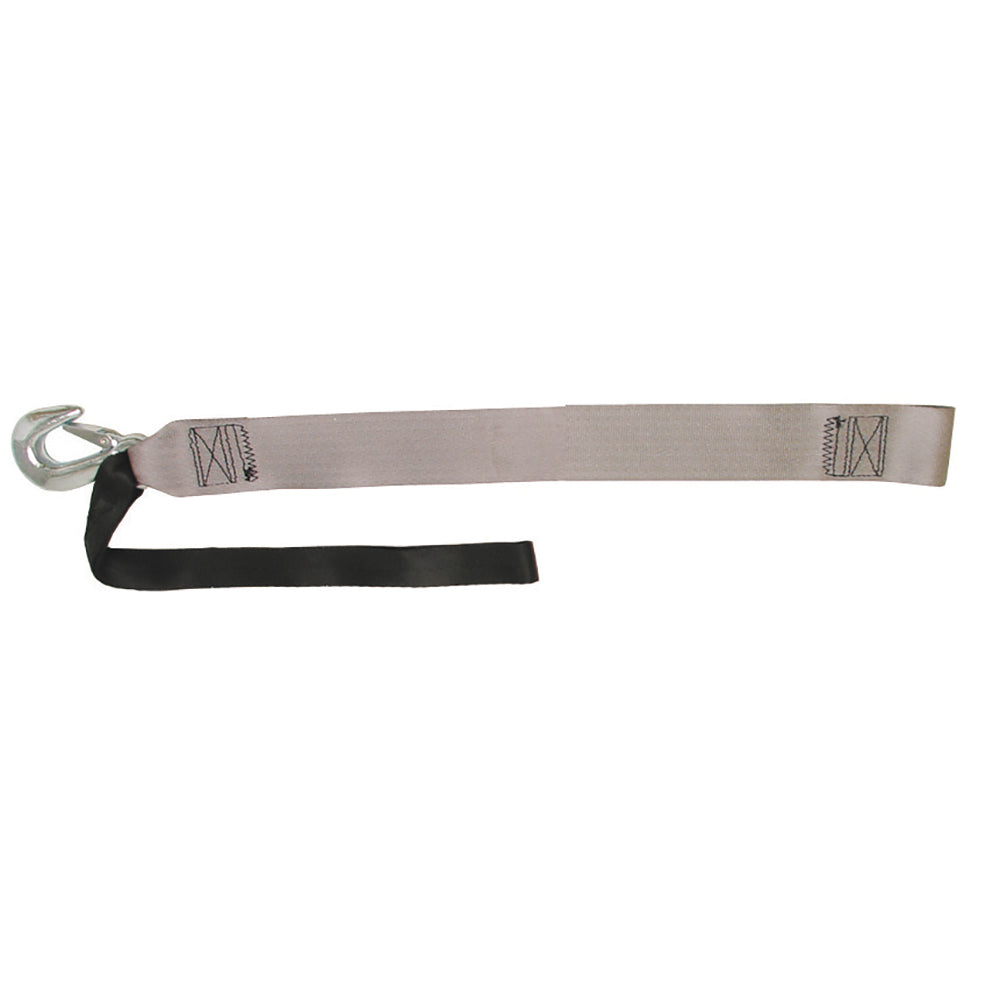 "BoatBuckle P.W.C. Winch Strap w-Loop End - 2"" x 15'"