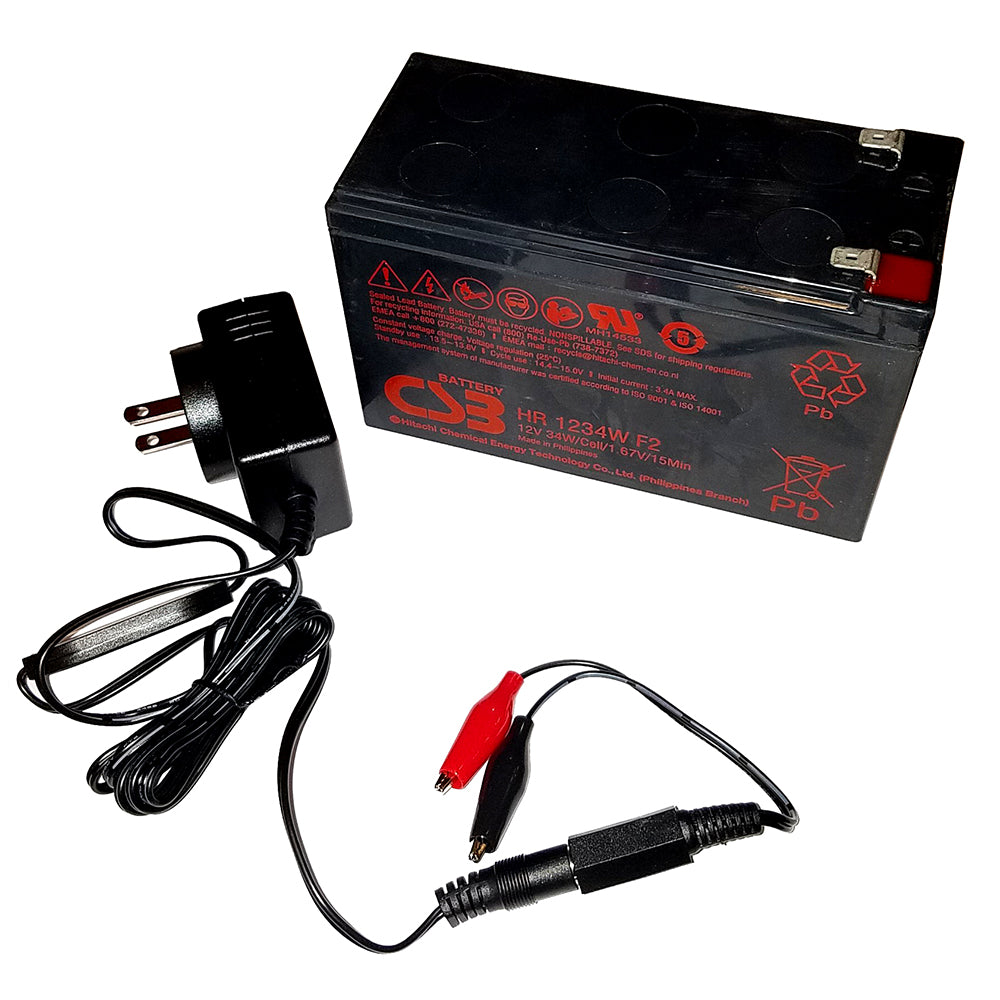 Humminbird 9Ah 12V AGM Battery Kit