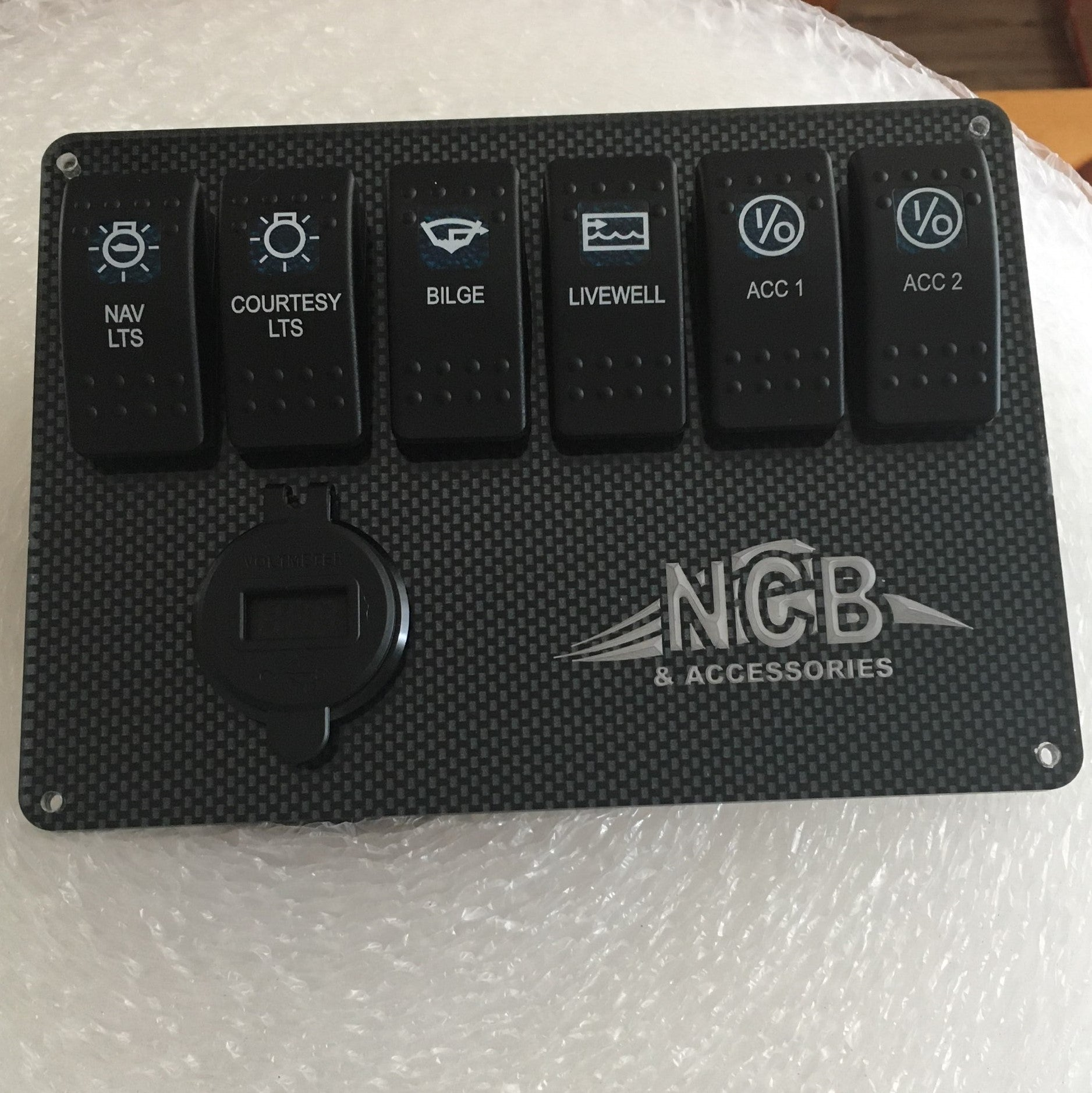TBN Electrical Switch Panel - 6 Gang