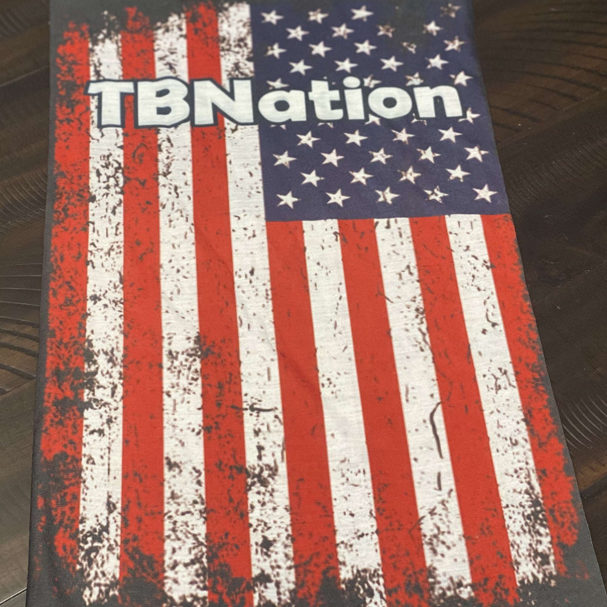 TBNation Rustic Flag Neck Gaiter