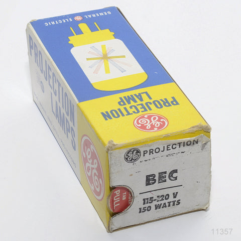 GE BEC PROJECTION LAMP 115-120 VOLT 150 WATTS