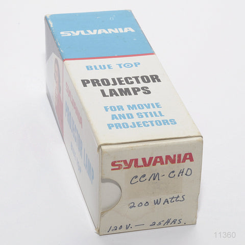 SYLVANIA CCM/CHD PROJECTION LAMP 120 VOLT 200 WATTS