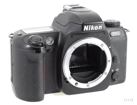 USED NIKON F65 AF BLACK CAMERA BODY ONLY OR WITH ZOOM LENS