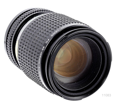 USED CANON FD 35-105 f/3.5-4.5 ZOOM LENS