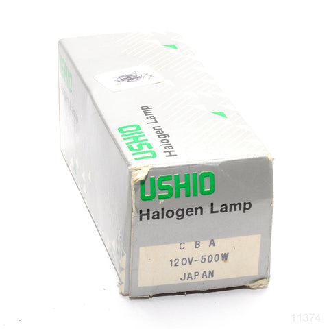 USHIO CBA PROJECTION LAMP 120 VOLT 500 WATTS