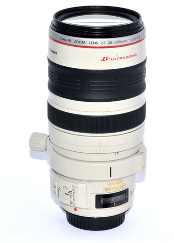 CANON EF 28-300/3.5-5.6 L IS USM FULL FRAME ZOOM LENS, MINT