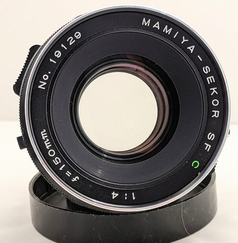 Mamiya Sekor SF C 150mm f/4 Soft Focus Lens for RB67 RZ67 with filters