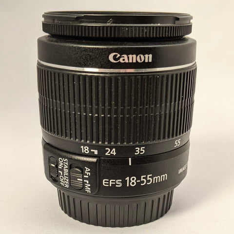 CANON EF-S 18-55/3.5-5.6 IS II ZOOM LENS, BARGAIN