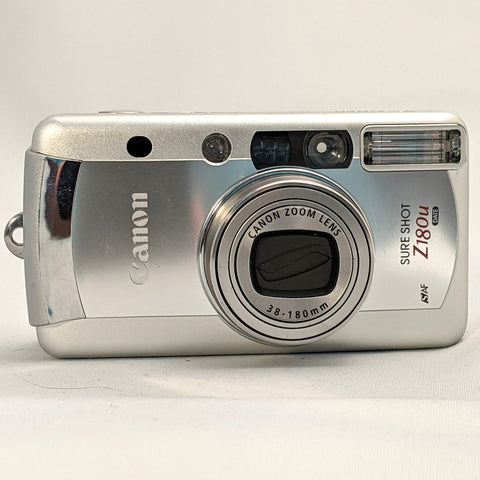 Canon Sure Shot Z180u 35mm zoom point and shoot film camera