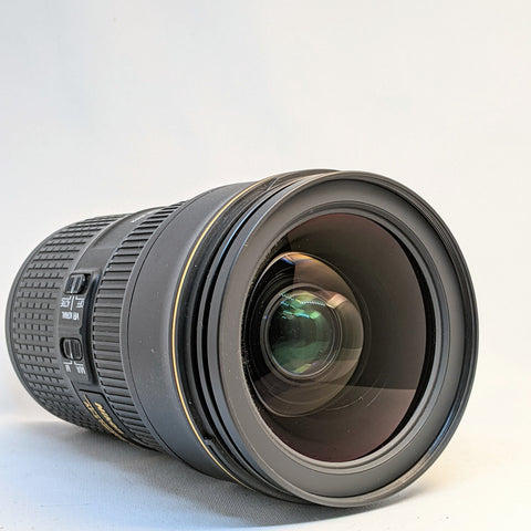 AF-S NIKKOR 24-70/2.8E ED VR 24-70mm NIKON LENS, FULL FRAME LIKE, NEW