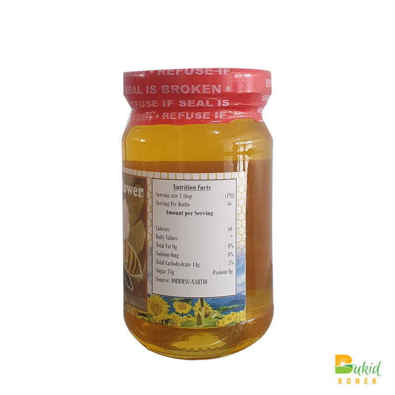 Mt. Pulag Wild Sunflower Honey (330ml)