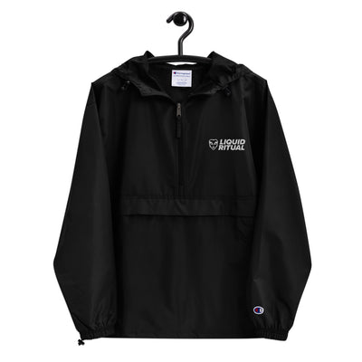 Embroidered Champion Packable Windbreaker Jacket